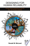 Designing for Human Reliability Book