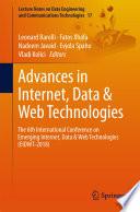 Advances in Internet  Data   Web Technologies