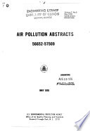 Air Pollution Abstracts Book