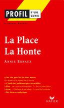 Pdf Profil - Ernaux (Annie) : La Place - La Honte Telecharger