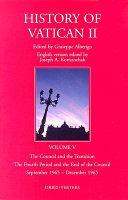 History of Vatican II