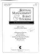 Festival Management   Event Tourism