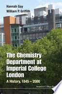 The Chemistry Department at Imperial College London
