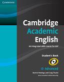 Cambridge Academic English C1 Advanced Student s Book