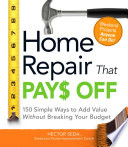 Home Repair That Pays Off