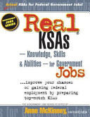 Real KSAS    Knowledge  Skills   Abilities    for Government Jobs
