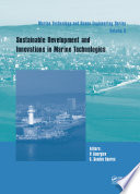 Sustainable Development and Innovations in Marine Technologies