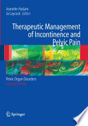 Therapeutic Management Of Incontinence And Pelvic Pain Book PDF