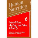 Nutrition  Aging  and the Elderly