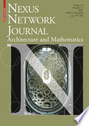 Nexus Network Journal 9,2  : Architecture and Mathematics