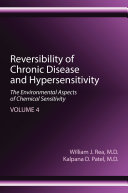 Reversibility of Chronic Disease and Hypersensitivity, Volume 4