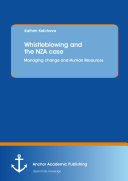 Whistleblowing and the NZA case