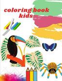 Coloring Book Kids Book