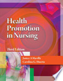 Cover of Health Promotion in Nursing