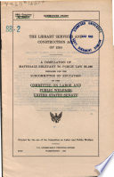 The Library Services And Construction Act Of 1964