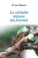 Pdf La véritable histoire des fourmis Telecharger