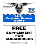 U S  Custom House Guide