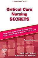 Critical Care Nursing Secrets Book