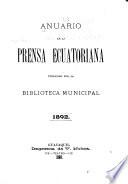 Anuario de la prensa ecuatoriana