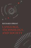Language  Technology  and Society