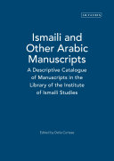 Pdf Ismaili and Other Arabic Manuscripts Telecharger