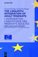 Pdf The Linguistic Integration of Adult Migrants / L'intégration linguistique des migrants adultes Telecharger