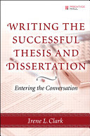Writing the Successful Thesis and Dissertation: Entering the ...