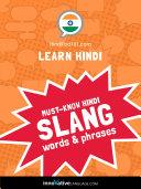 Pdf Learn Hindi: Must-Know Hindi Slang Words & Phrases Telecharger