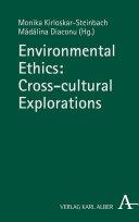 Environmental Ethics  Cross cultural Explorations