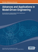Advances and Applications in Model Driven Engineering