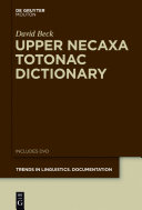Upper Necaxa Totonac Dictionary