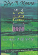 Letters of a Love hungry Farmer and Other Irish Stories Book