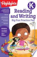 Kindergarten Reading and Writing Big Fun Practice Pad Book PDF