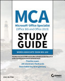 MCA Microsoft Office Specialist Word Study Guide