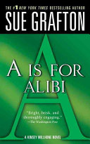 A  is for Alibi Book