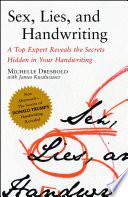 Sex, Lies, and Handwriting