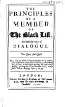 The Principles of a Member of the Black List ebook