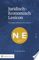 Juridisch Economisch Lexicon Nl En