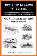 Pen and Ink Drawing Workbook Vol 6