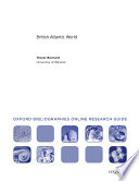 British Atlantic World Oxford Bibliographies Online Research Guide