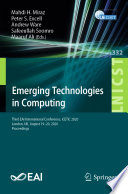 Emerging Technologies in Computing Book