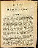 Economy of the British Empire