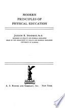 Modern Principles of Physical Education