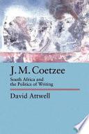 J M Coetzee