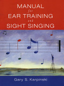Manual For Ear Training And Sight Singing PDF