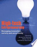 High Tech Entrepreneurship