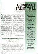 Compact Fruit Tree