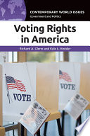 Voting Rights in America  A Reference Handbook