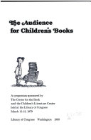 The Audience For Children S Books Book PDF