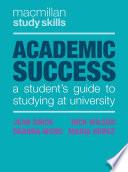 Academic Success Book
